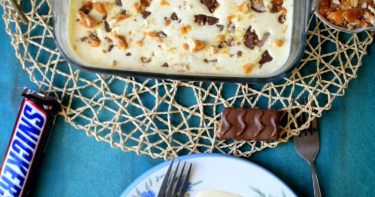 Snickers Icebox Pudding