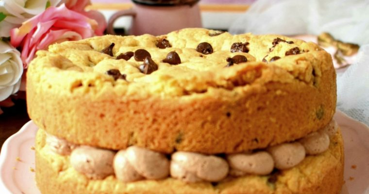Chocolae Chip Cookie Cake