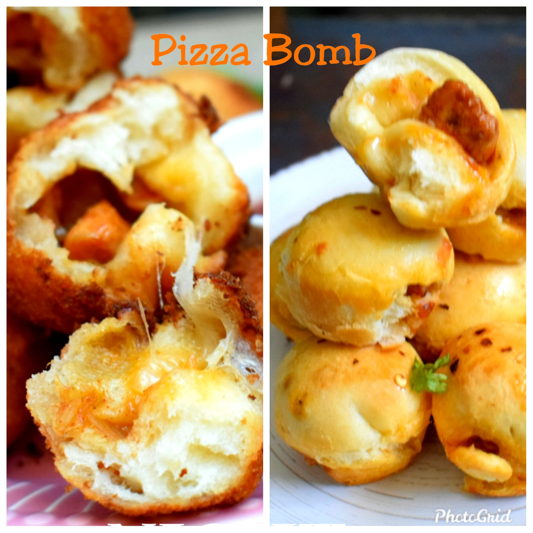 Pizza Bomb in 2 different ways