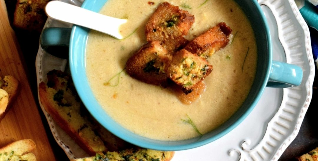 Roasted Chicken & Potato Soup