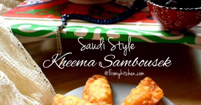 Saudi Style Kheema Sambosek