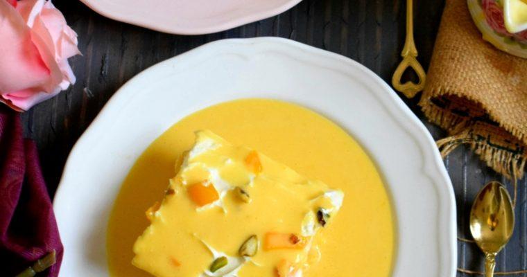 Mango Tres Leches / Milk Cake