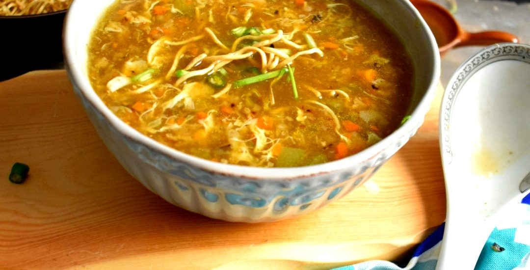 Chicken Manchow Soup