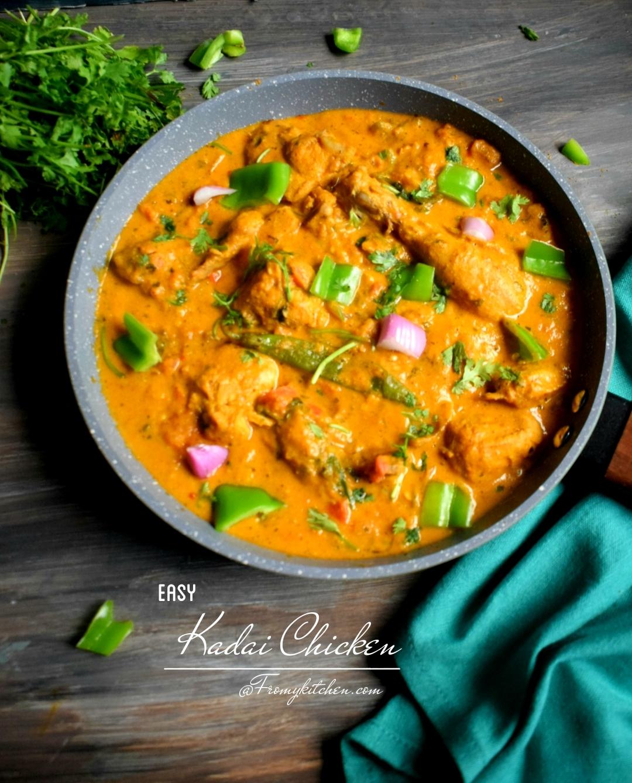 Easy Kadai Chicken