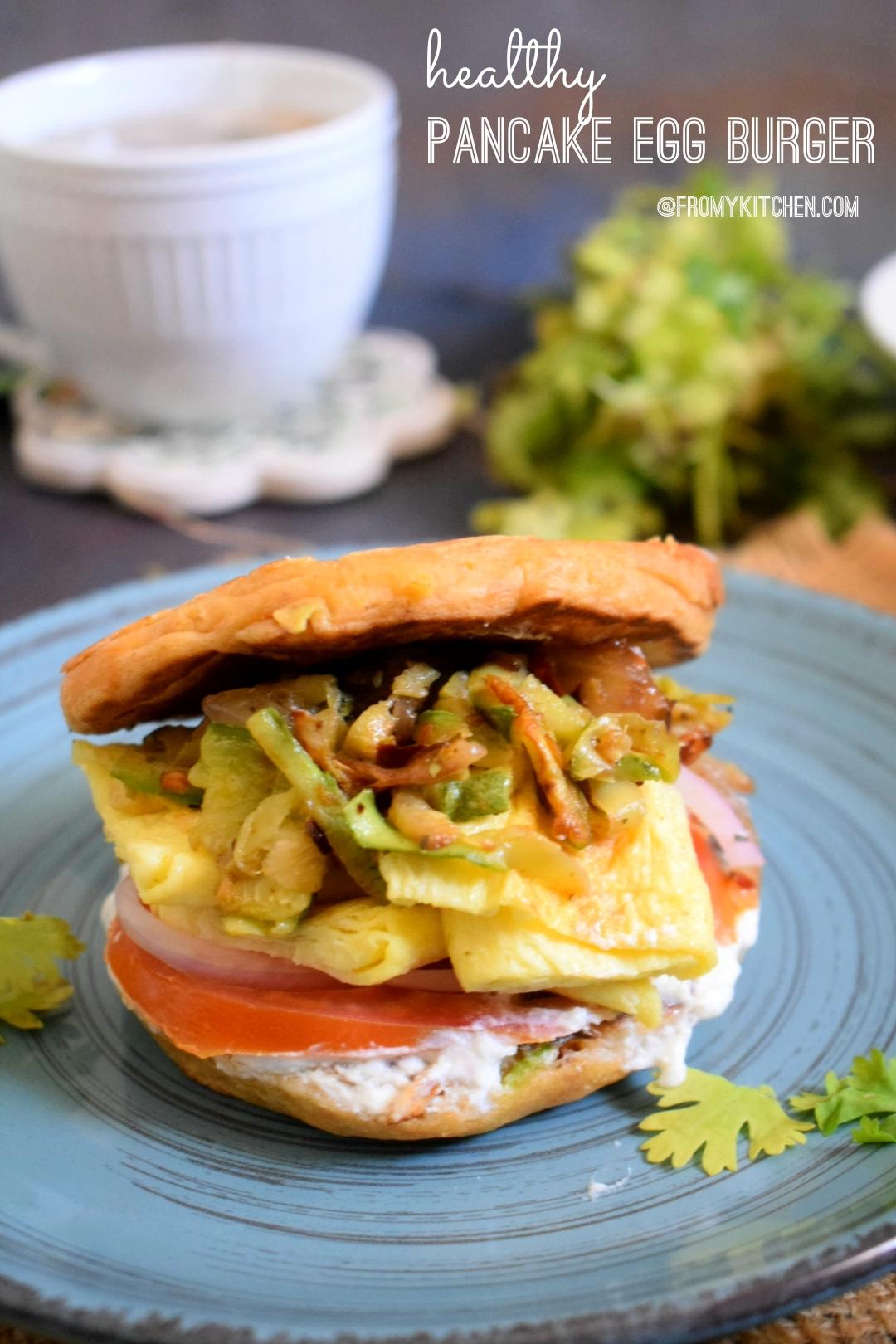 Healthy Pancake Burger