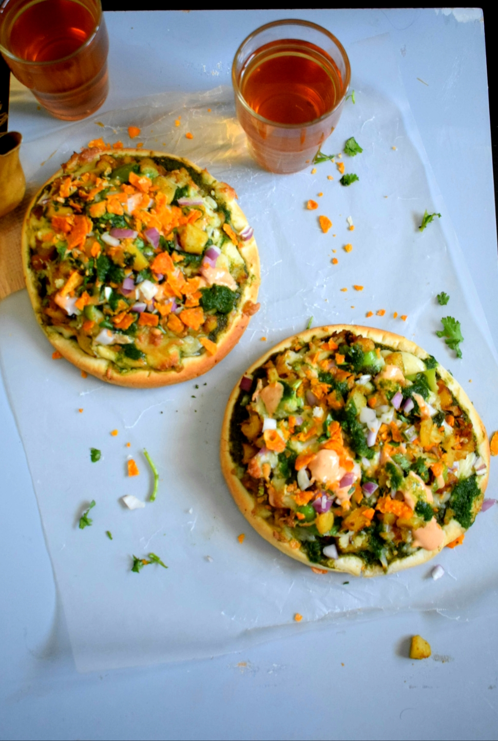 Chaat Pizza