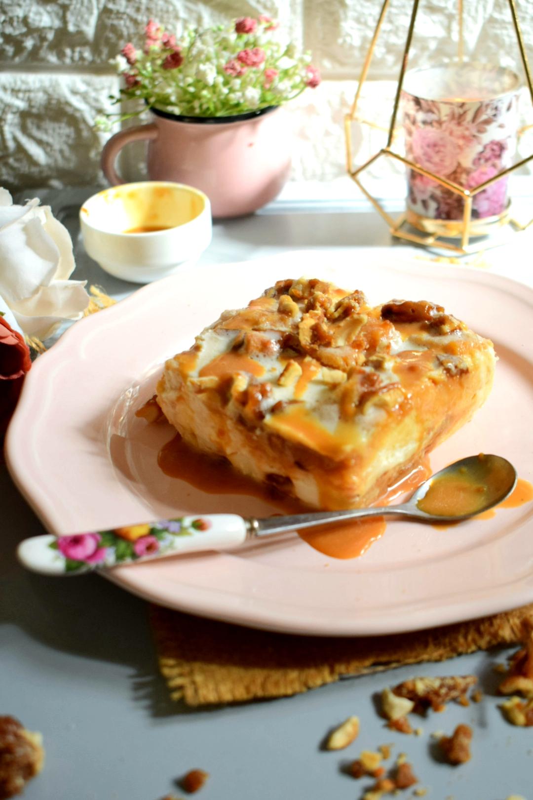 Coconut Caramel Fudge Pudding