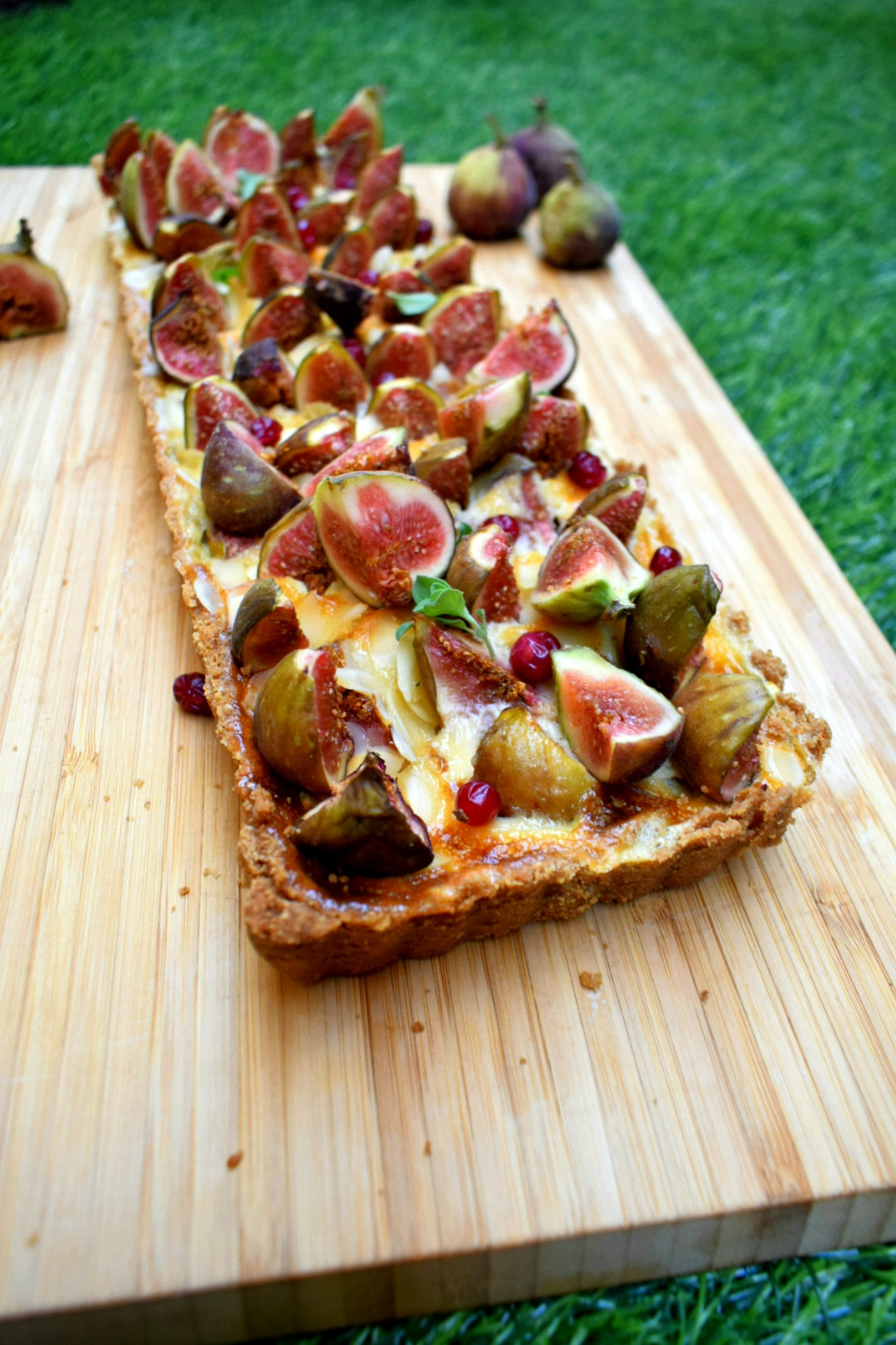 Easy Fig Tart