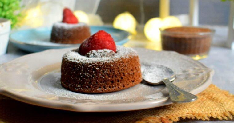 Molten Lava Cake.