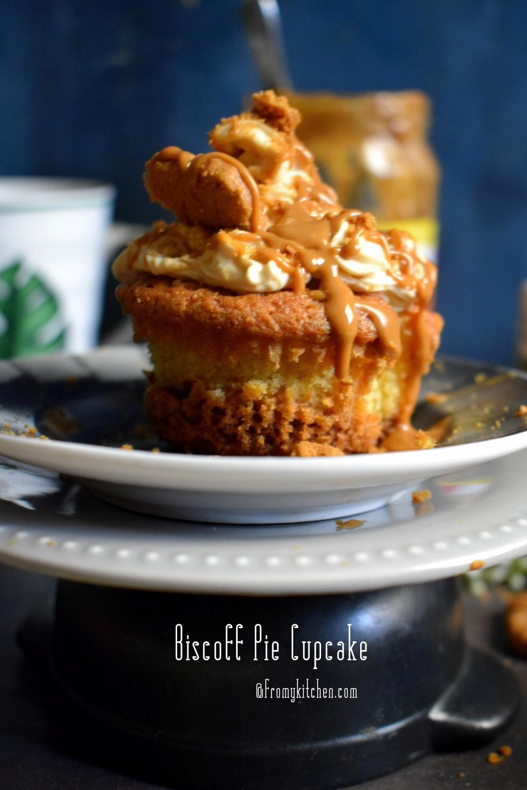 Biscoff Pie Cupcake
