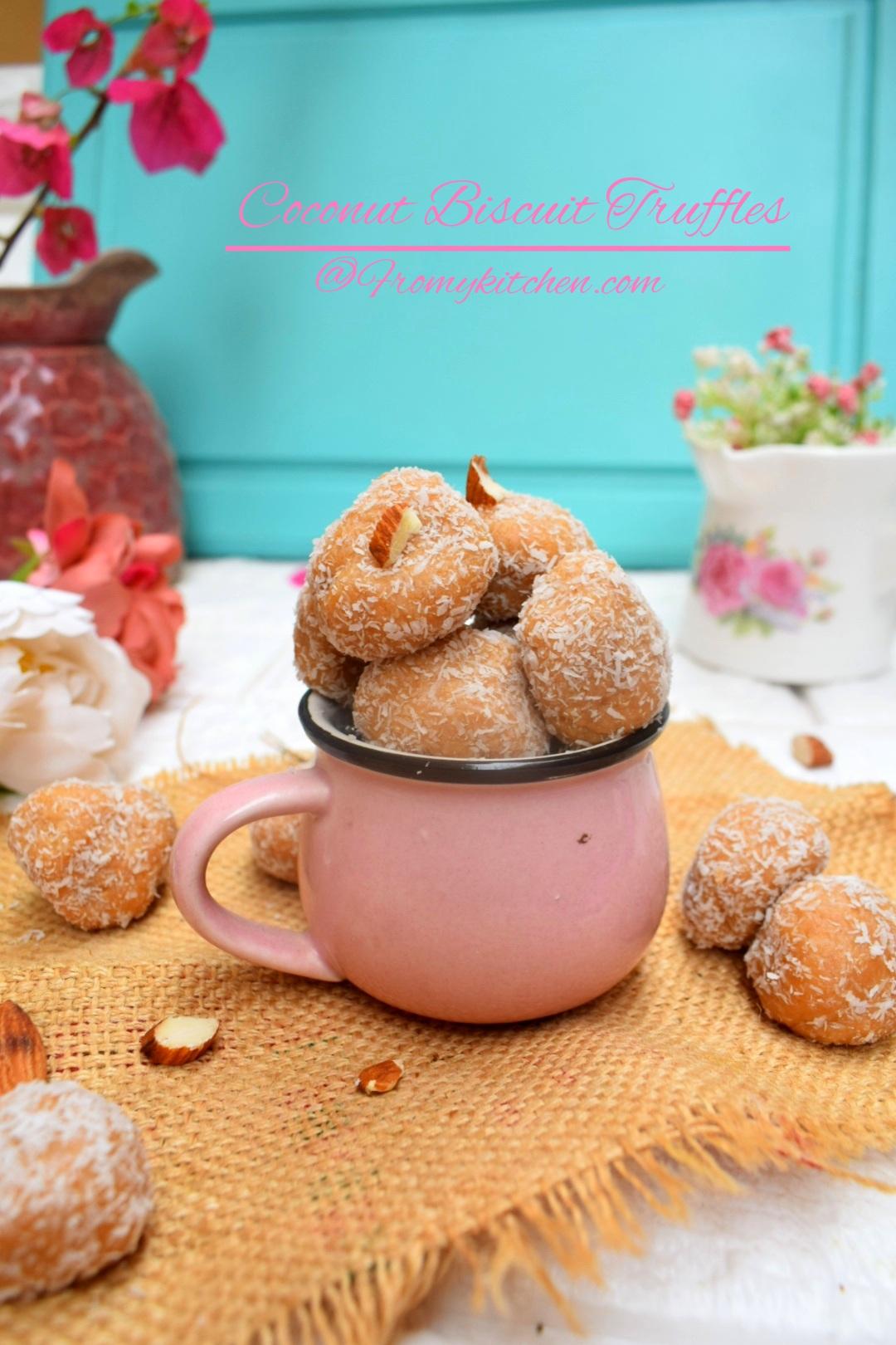 Coconut Biscuit Truffles