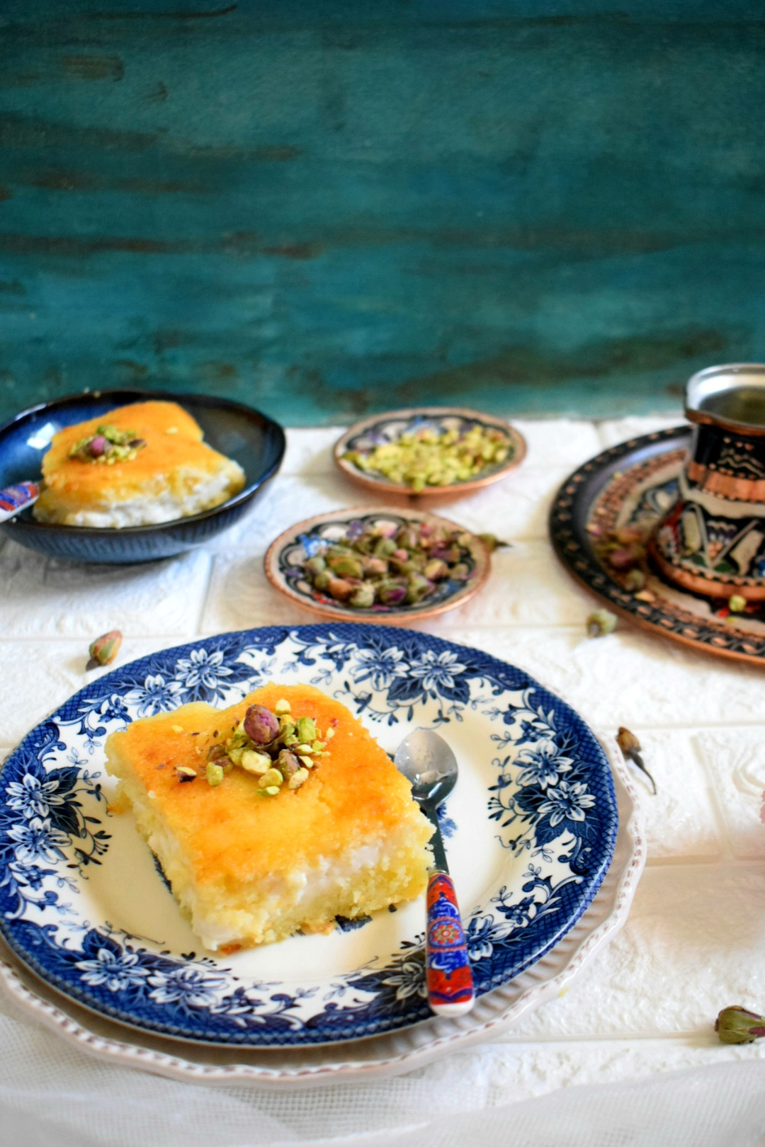 Basbousa with Cream