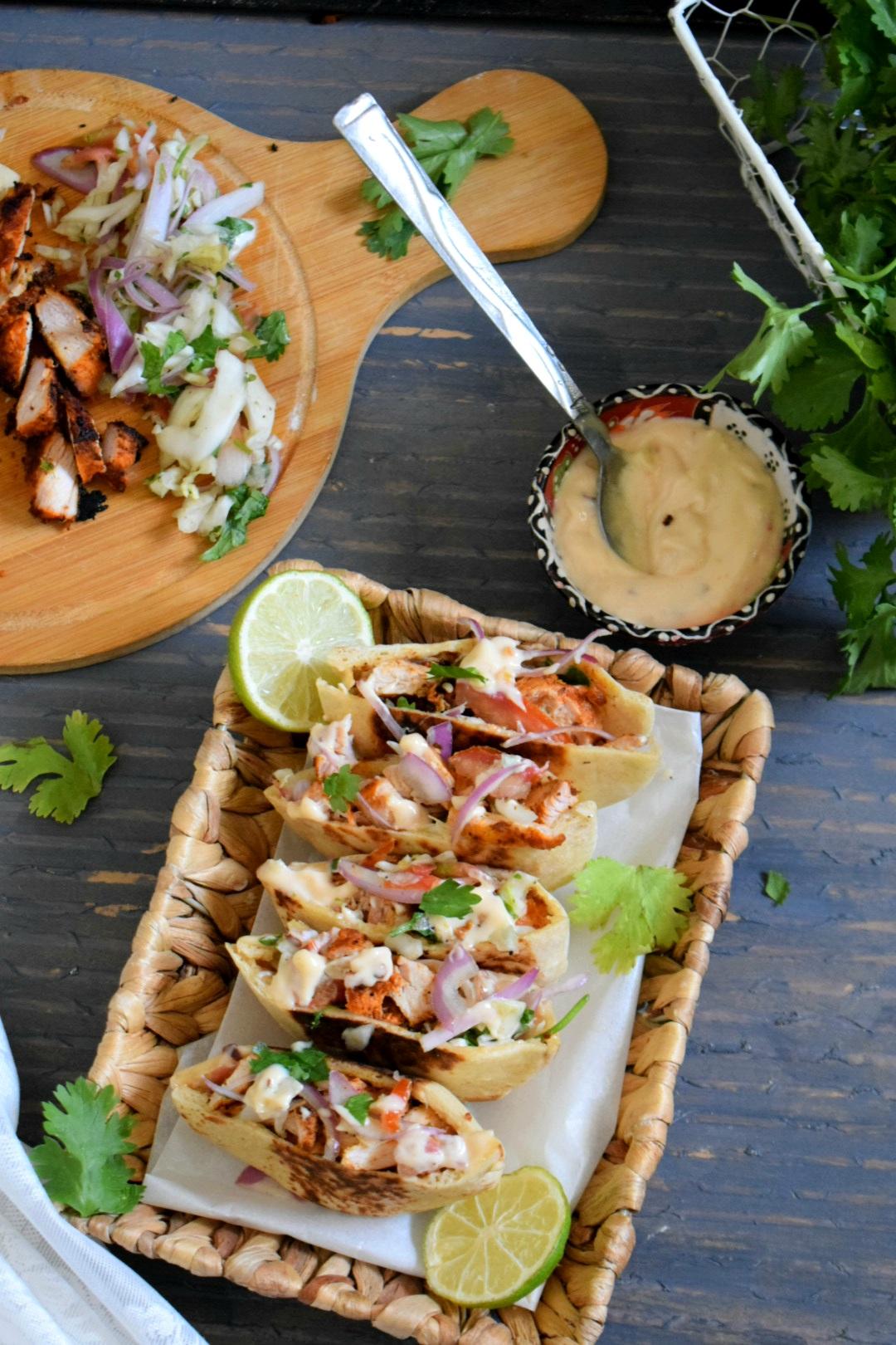 Pocket Shawarma / Grilled Chicken Shawarma