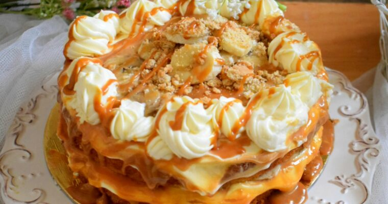 Banoffee Pie Cake