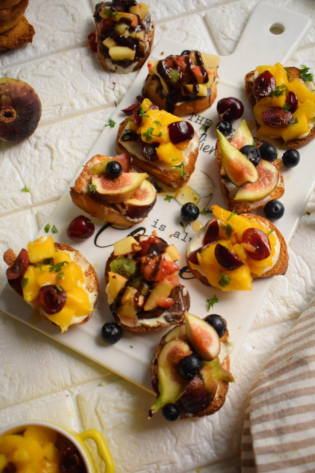 Fruit Crostini